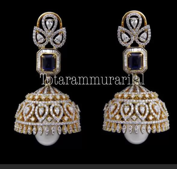 Diamond jhumka DTJ-A13