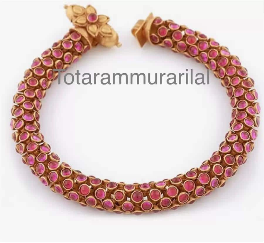 Kundan bangle KB-A4