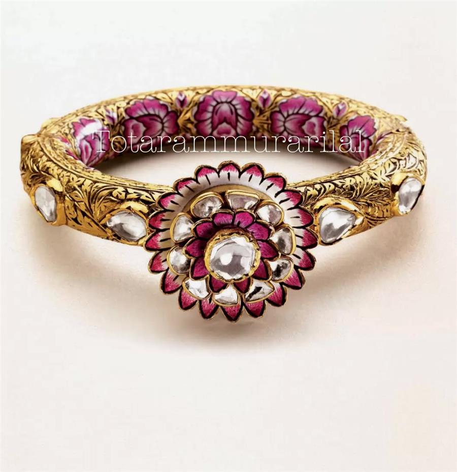 Kundan bangle KB-A6